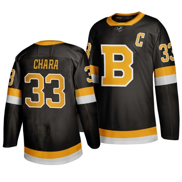 BOSTON BRUINS BLACK - Bergeron; Chara; Pastrnak