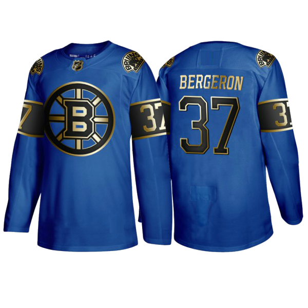 BOSTON BRUINS BLUE-GOLD - Bergeron