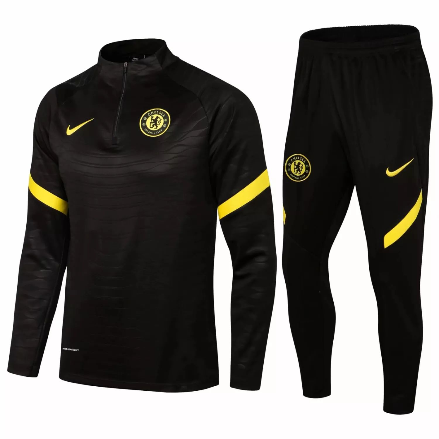 "CHELSEA FC BLACK-YELLOW ""Training Suit"" – 2021-22"