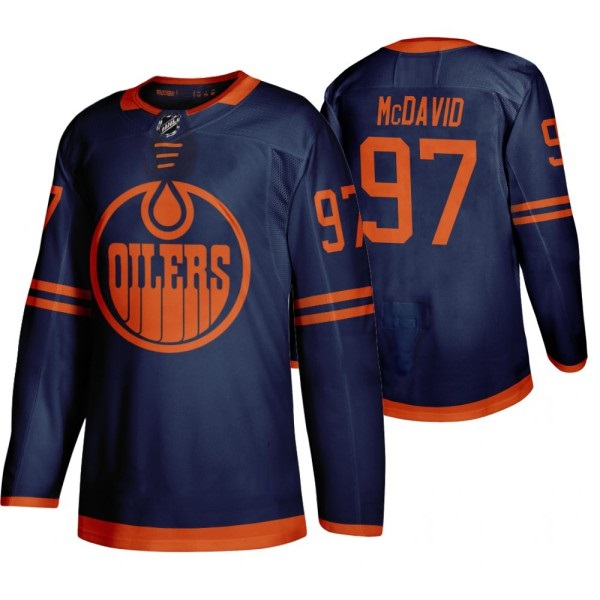 EDMONTON OILERS NAVY-ORANGE - McDavid
