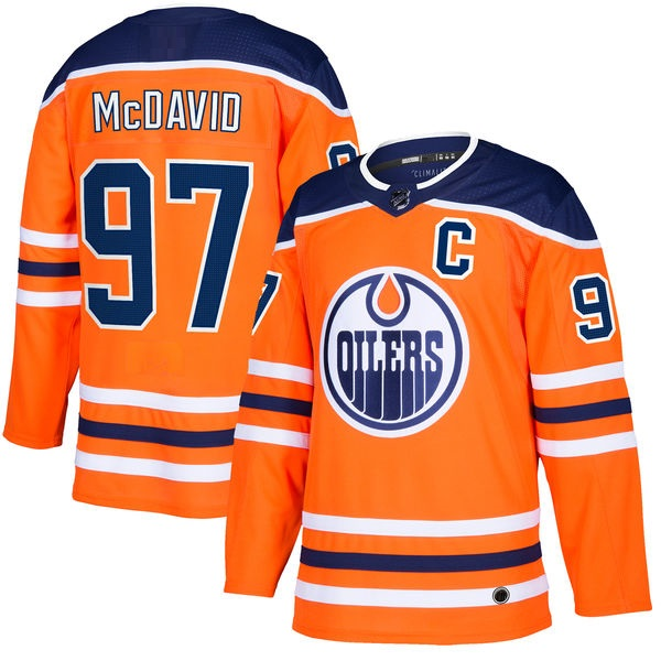 EDMONTON OILERS ORANGE - McDavid