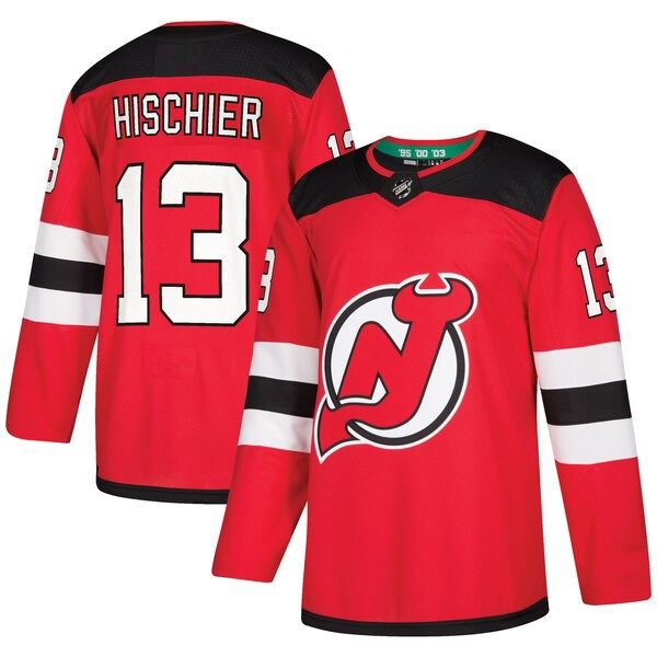 NEW JERSEY DEVILS RED - Hischier; Subban