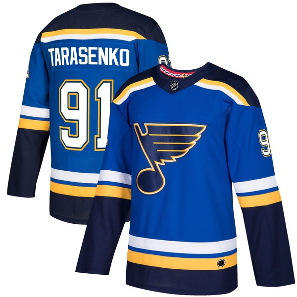 "ST LOUIS BLUES ""BLUE"" - Tarasenko; O'Reilly; Parayko; Schenn; Perron"