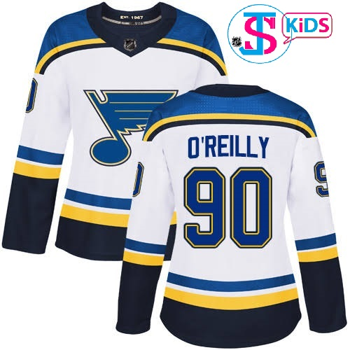 "ST LOUIS BLUES WHITE ""Kid"" - Tarasenko; O'Reilly"