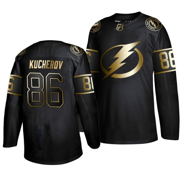TAMPA BAY LIGHTNING BLACK-GOLD - Kucherov