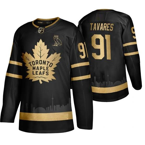 TORONTO MAPLE LEAFS BLACK-GOLD - Tavares; Matthews